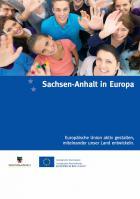 """Titelbild: """"Sachsen-Anhalt in Europa"""""""