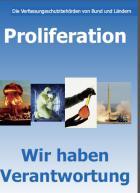 Titelbild: Proliferation - wir haben Verantwortung