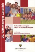 Titelbild: 20. Wittenberger Gespräch