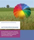 Titelbild: Aktionsprogramm für die Akzeptanz von Lesben, Schwulen, Bisexuellen, Transgendern, Transsexuellen und intergeschlechtlichen Menschen (LSBTTI) in Sachsen-Anhalt