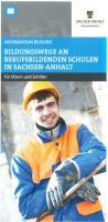 Titelbild: Bildungswege an Berufsbildenden Schulen in Sachsen-Anhalt