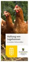 """Titelbild: Flyer """"Haltung von Legehennen in mobilen Hühnerställen"""""""